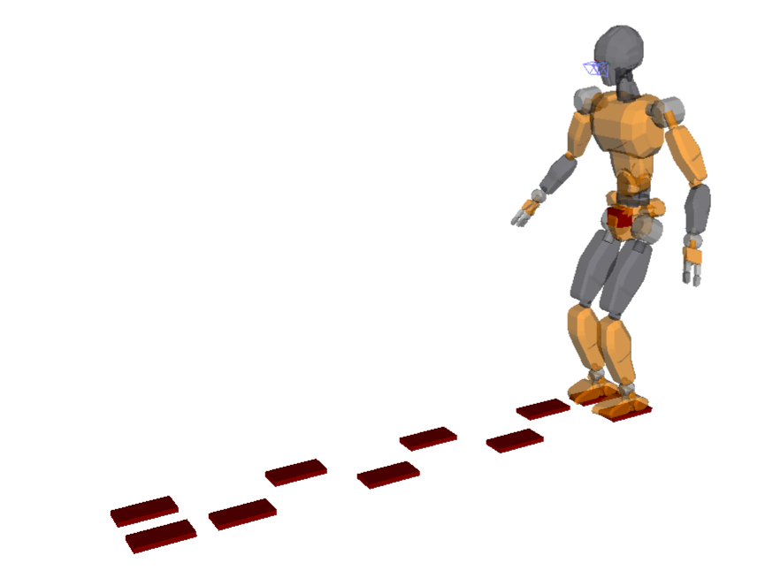 Humanoid model JVRC-1 is now ready to walk