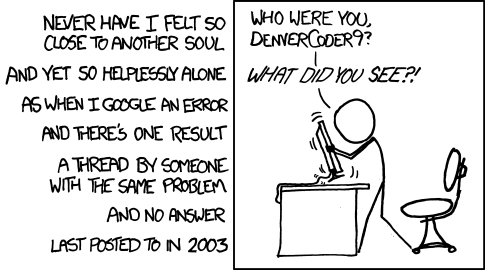 Comic from xkcd